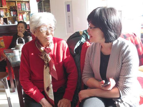 4和一位86岁的老人聊稍麦