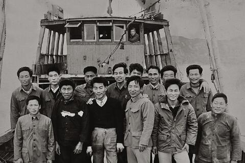 1978年,溪尾船运公司701船开拓外海运输市场,前往舟山普陀沈家门运输水产品