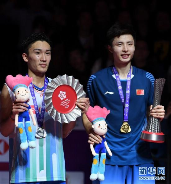 (体育)(6)羽毛球——世界巡回赛总决赛:石宇奇获男子单打冠军