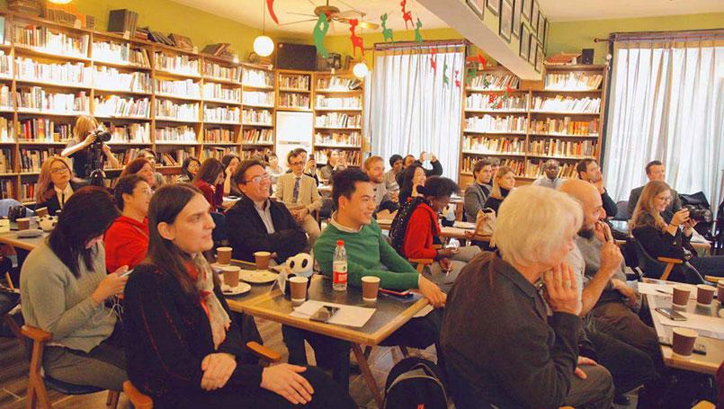 改变中国影响世界-海外专家读者交流会