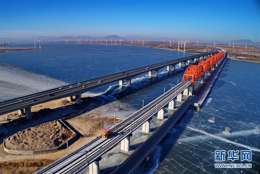 (经济)(5)京张高铁官厅水库特大桥铺轨
