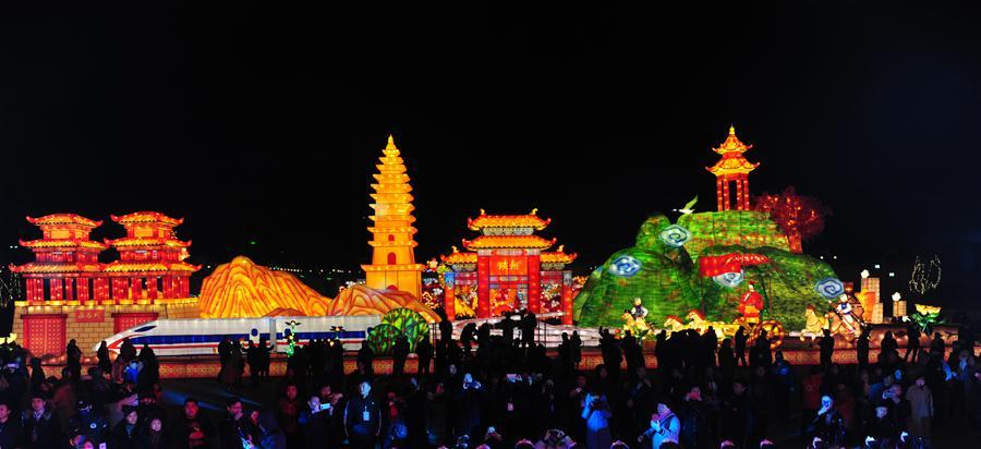 (文化)(6)灯耀陕州迎新年