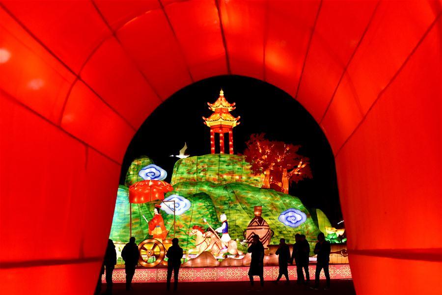 (文化)(7)灯耀陕州迎新年