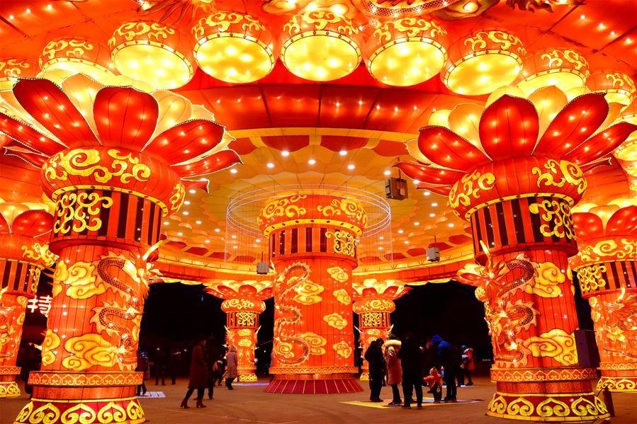 (文化)(9)灯耀陕州迎新年