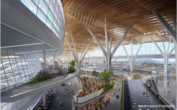 国内资讯_昆明长水机场T2航站楼:打造国内领先超大型综合交通枢纽 - 中国 ...
