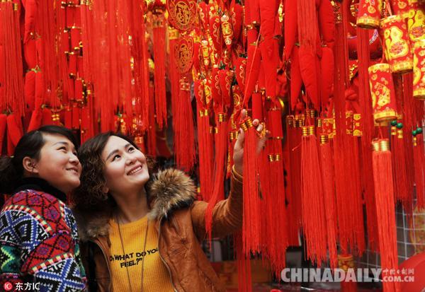 金鹰心水论坛北京:商业街区亮点多 年味十足迎新春