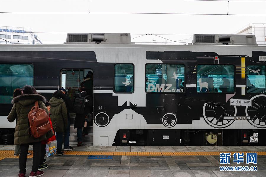 """(国际·图文互动)(1)通讯:等待绿灯的""""和平列车""""——在第二次""""金特会""""前探访朝韩边境列车"""