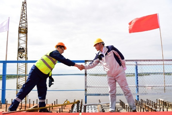 【中国那些事儿】中俄首座跨境公路大桥合龙?俄官员:这是造福两国人民的友谊之桥