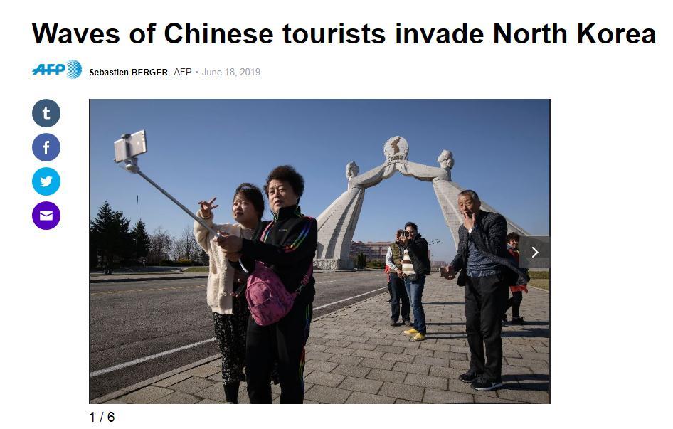 【中国那些事儿】中国游客赴朝热情不断升温两国旅游合作前景广阔