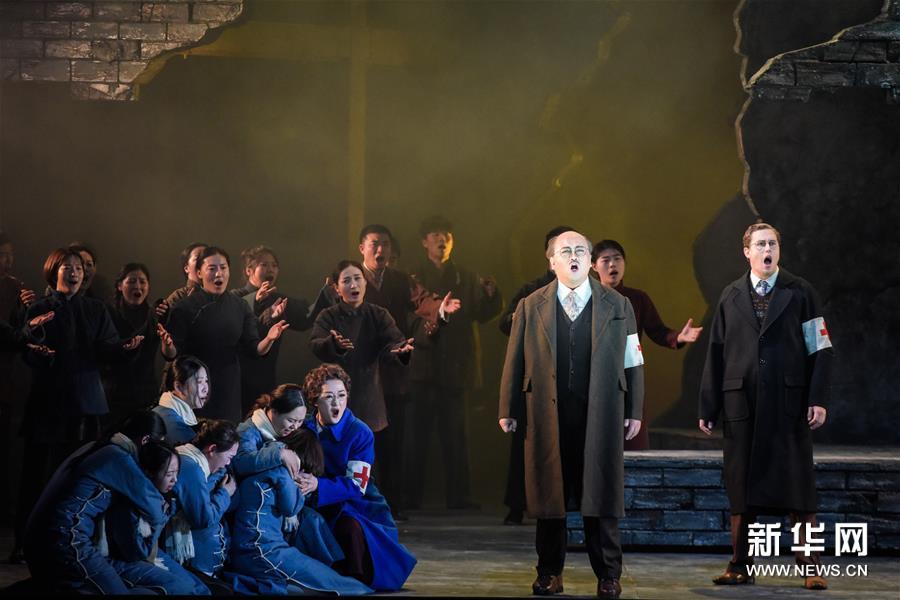 (新華視界)(4)中國歌劇《拉貝日記》在維也納上演