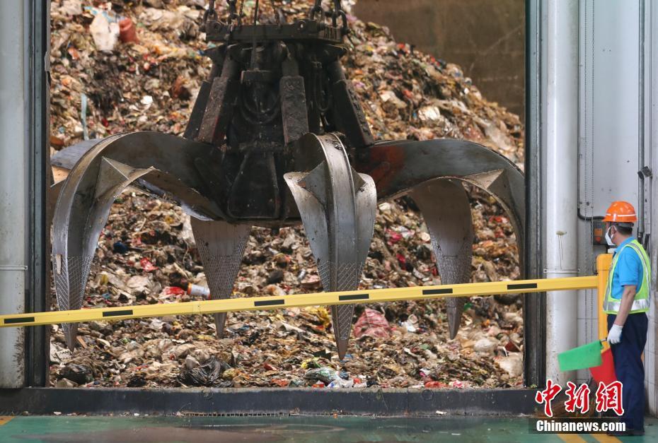 上海垃圾分类干垃圾末端处置:从烈焰中回到千家万户