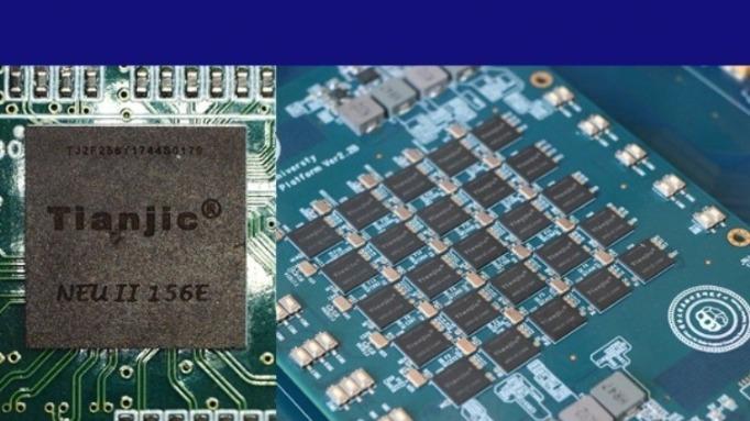 """【中国那些事儿】""""天机芯""""登上《自然》封面 外媒:世界首款异构融合类脑芯片大有玄机"""