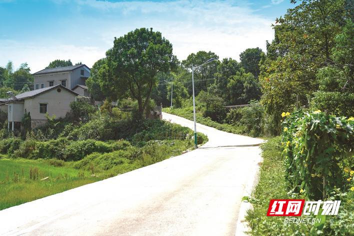 """长沙县:""""民生立县""""出实招,村里路宽了水更清了"""