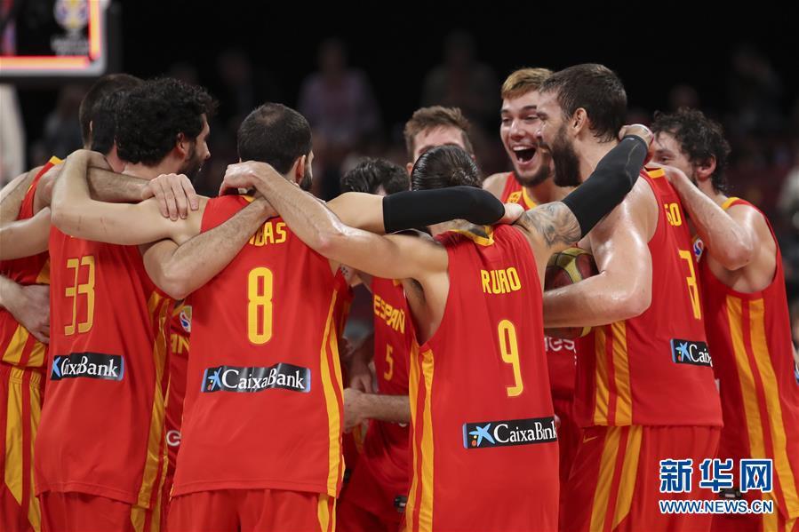(篮球世界杯)(1)篮球——西班牙队夺冠