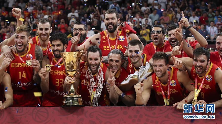 (篮球世界杯)(3)篮球——西班牙队夺冠