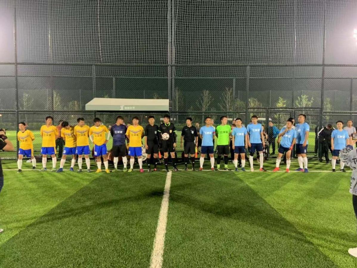 """武汉2019""""市民杯""""社区足球赛决"""