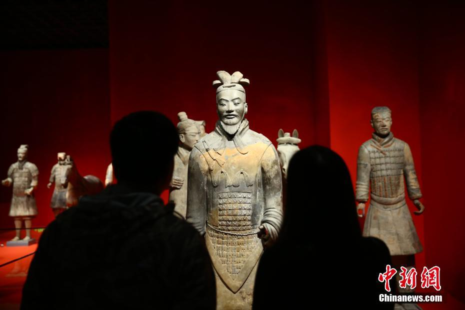 """""""平天下—秦的統一""""大型展覽在西安秦陵博物院開展"""