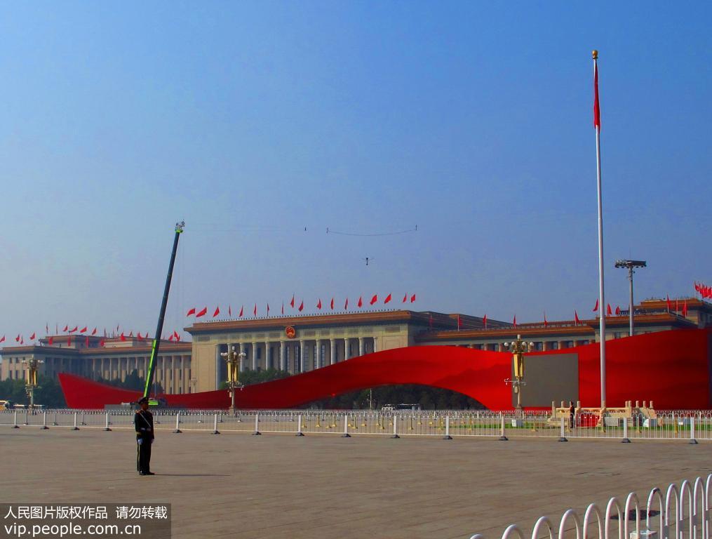 天安门广场盛装迎接国庆70周年【5】