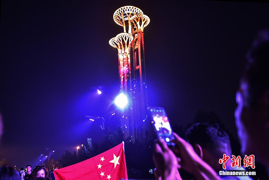 沈阳土地契税税率_灯光璀璨 北京多地标上演国庆灯光秀向祖国表白