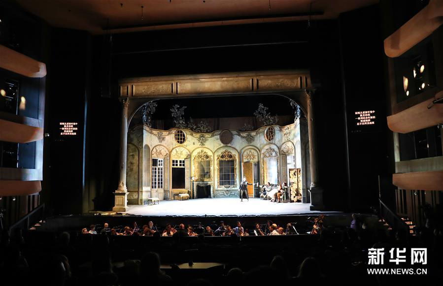 """(新华视界)(4)意大利斯卡拉歌剧院举行""""开门排练"""""""