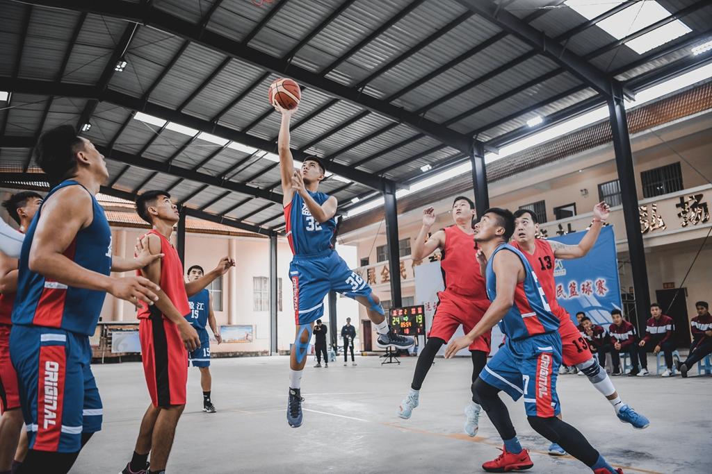 云南德宏举行2019年篮球联赛・农