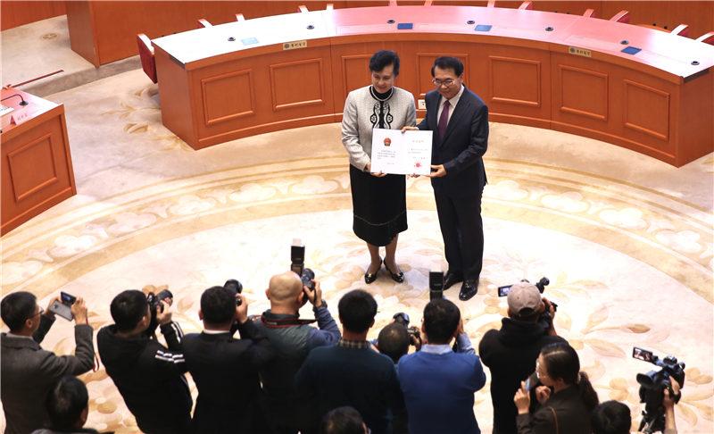 中科院举行2019年新当选院士座谈会