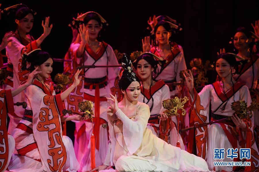 (国际)(7)中国舞剧《孔子》亮相莫斯科