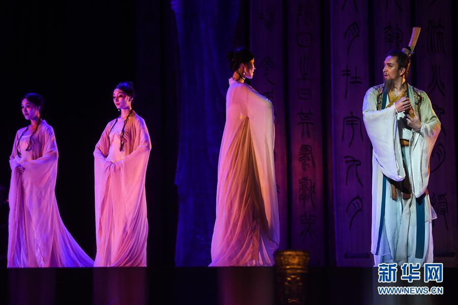 (国际)(8)中国舞剧《孔子》亮相莫斯科