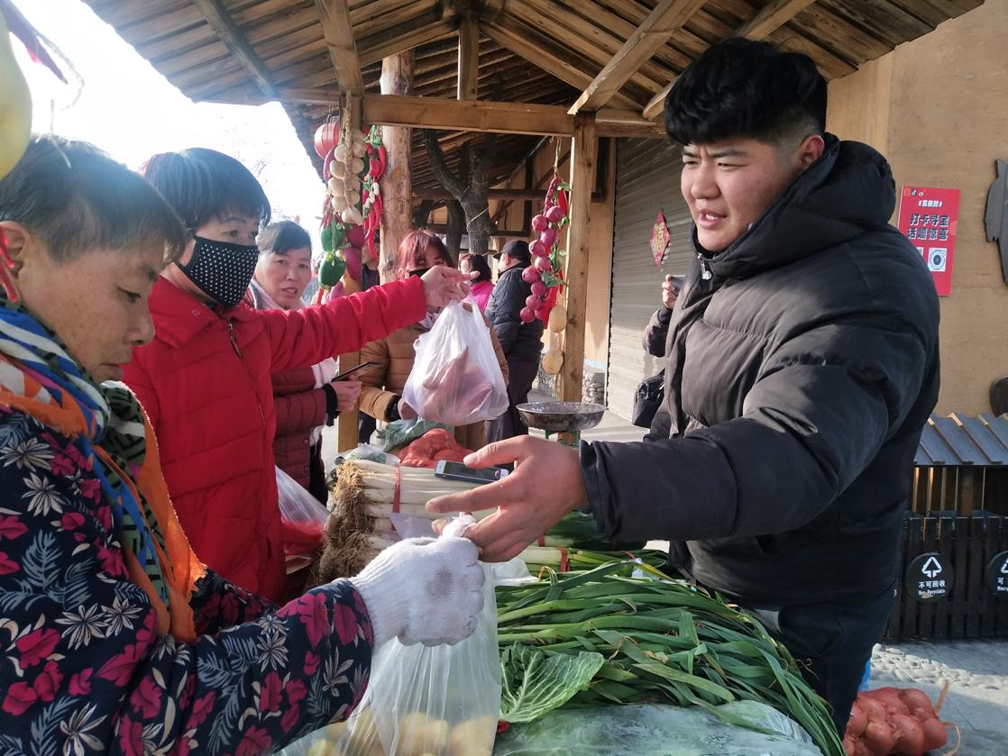 大武口区龙泉村:互联网集市让富