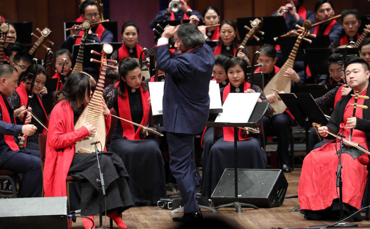美国首都肯尼迪艺术中心举办中国新年音乐会