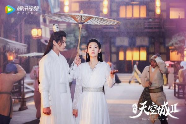 电影《九州天空城2》发布预告 徐正溪白衣造型仙气满满