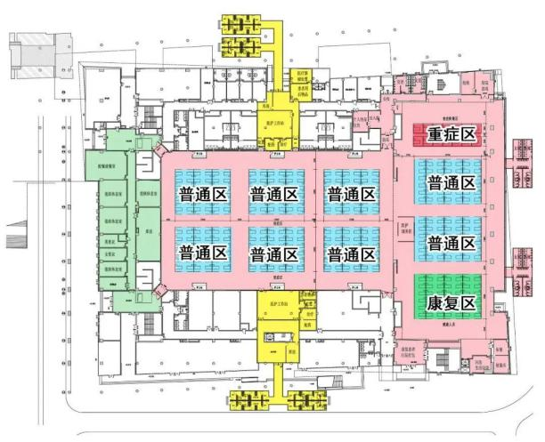 小汤山医院设计图cad