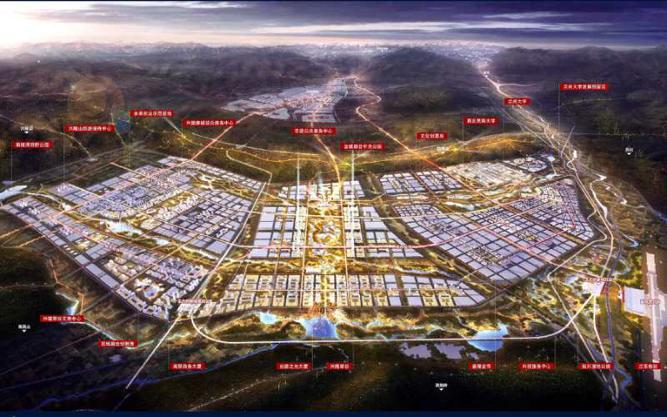 甘肃榆中:推进生态创新城建设 增添兰州副中心 打造经济新引擎