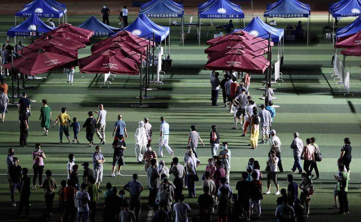 北京对9万名小区居民进行核酸检测