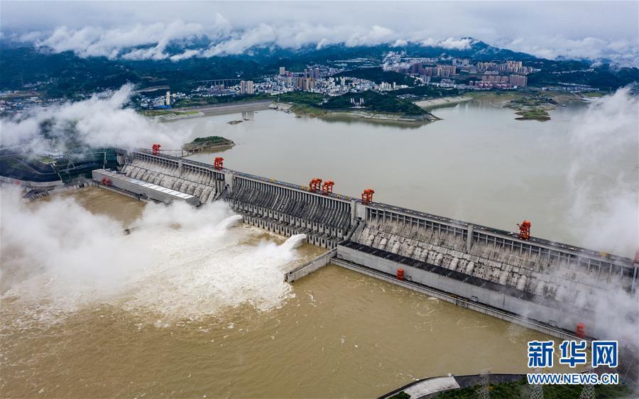 #(环境)(7)三峡工程今年首次泄洪 近期或迎新一轮洪水