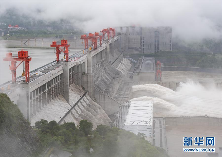 #(环境)(8)三峡工程今年首次泄洪 近期或迎新一轮洪水
