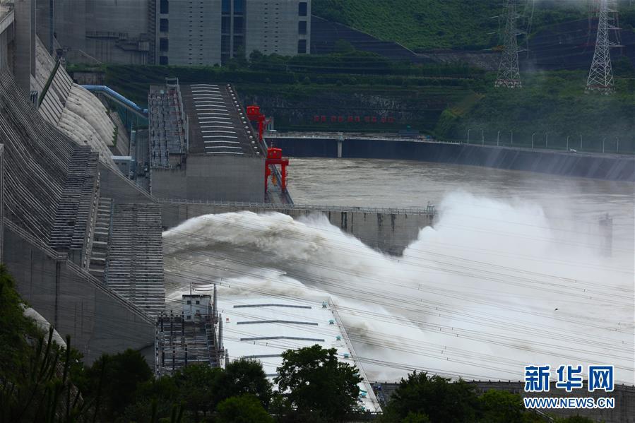 #(环境)(10)三峡工程今年首次泄洪 近期或迎新一轮洪水