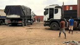 安哥拉约50名货运司机在新冠病毒检测中呈阳性被强制隔离