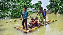 印度阿萨姆邦洪灾已致110人死亡 540万人受灾