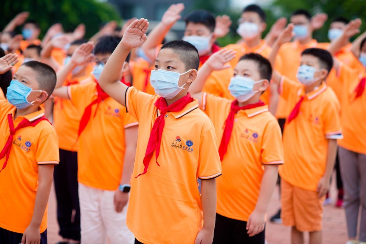 关爱抗疫一线医务人员子女夏令营在北戴河举办