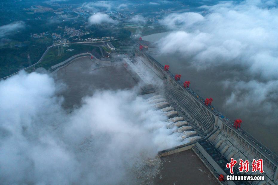 三峡入库流量已达73800立方米每秒 超过建库以来最大