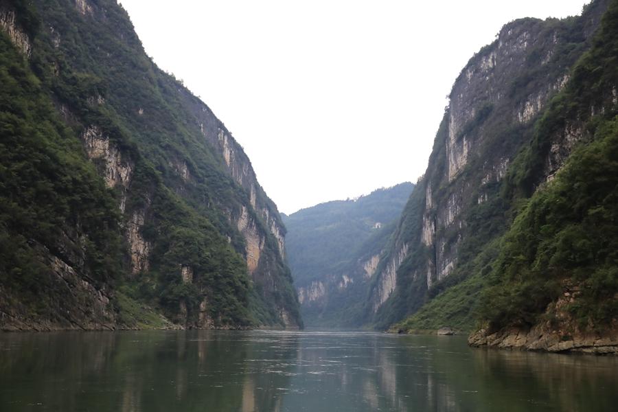 深山中的明珠 贵州沿河乌江山峡雄奇秀美