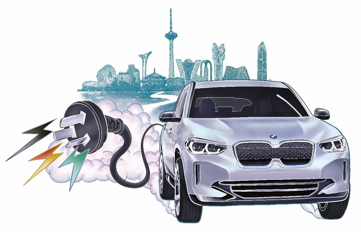 中国制造宝马第一次大规模出口