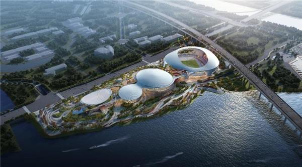 广东顺德德胜体育中心钢结构工程项目首吊仪式启动