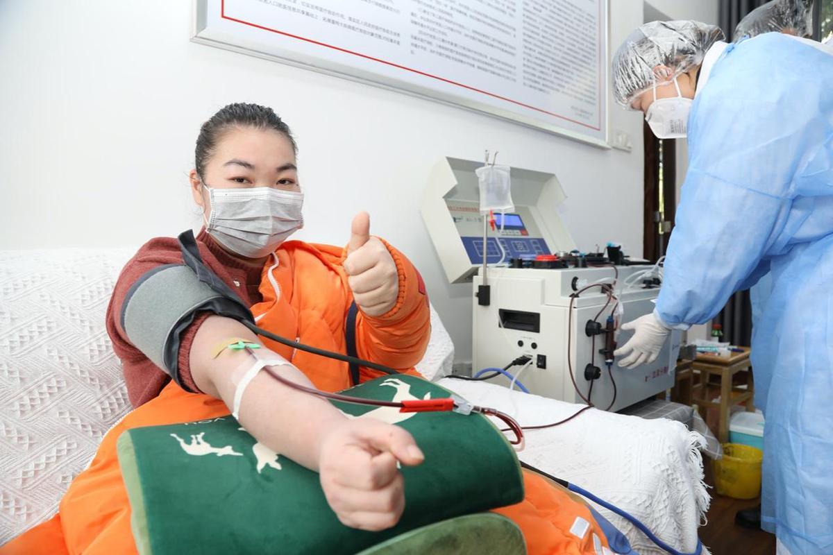 三位90后护士新冠肺炎康复后献血救治病人