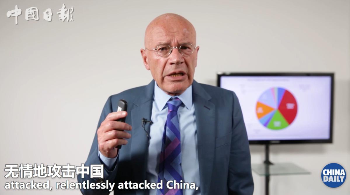 马丁·雅克:新冠疫情是对国家治理的考验 中国已交出一份出色